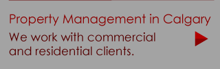 Property Management in Calgary | We work with commercial and residential clients.